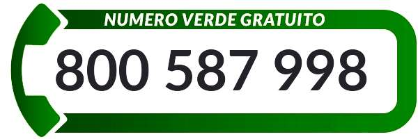 Numero Verde Gratuito 800587998